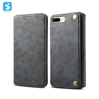 ultra-thin wallet PU leather for iPhone 7 8 Plus