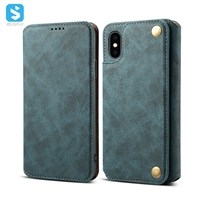ultra-thin wallet PU leather for iPhone XS MAX