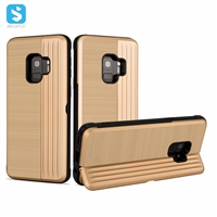 2 in 1 PC TPU with stand phone case for Samsung Galaxy S9
