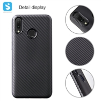 carbon fiber TPU case for Huawei Y9 2019