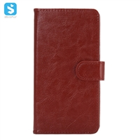 Universal 360 degree rotate crazy horse pu leather case (4.8-5.3 inch)