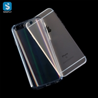 Tempered Glass TPU phone case for iphone 6(S) Plus