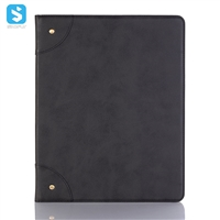 inserd card with stand leather case for ipad pro 12.9 2018