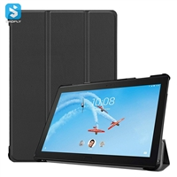 3 fold leather case for Lenovo tab P10-X705F 10.1